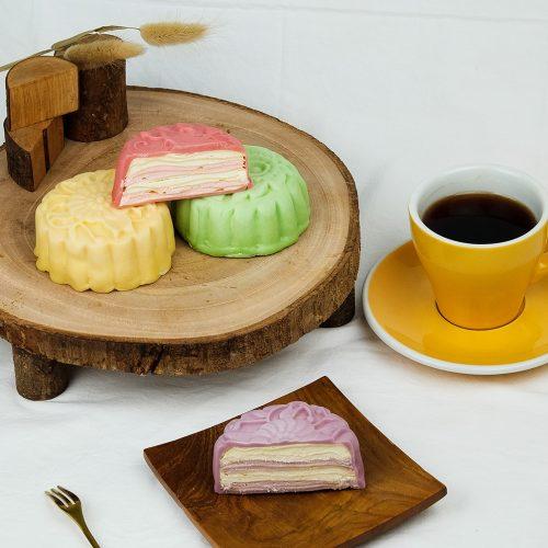 square mooncake