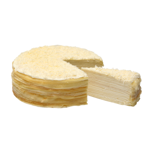 Cheese Mille Crepes – Whole